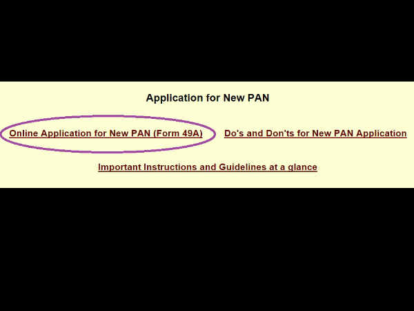 How to apply for PAN card in online 3