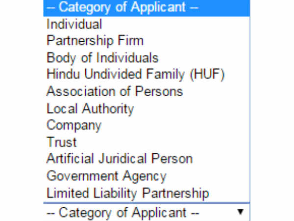 How to apply for PAN card in online 5