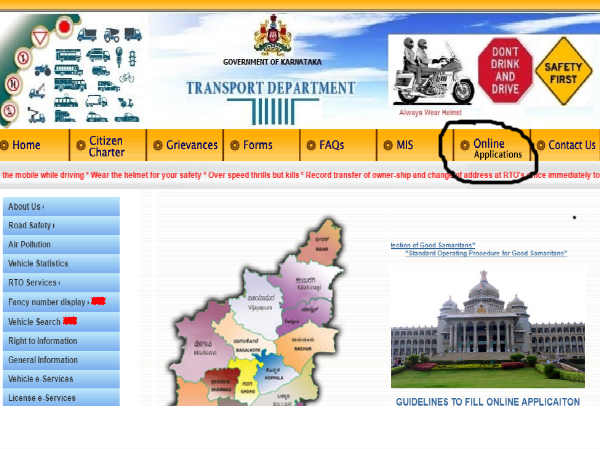 how to apply for driving licence in online know in kannada 3
