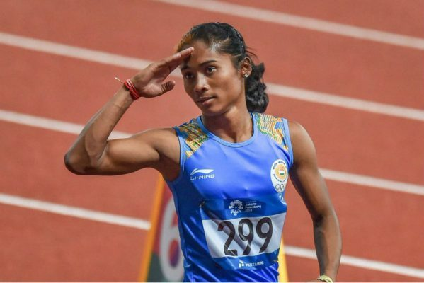 Hima Das appoints as UNICEF youth Ambassador