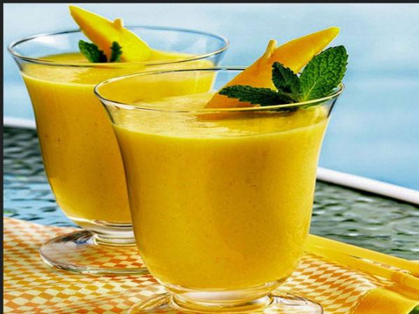 How to prepare mango lassi in home