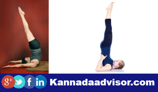 Many deseases have been reversed from the Sarvangasana