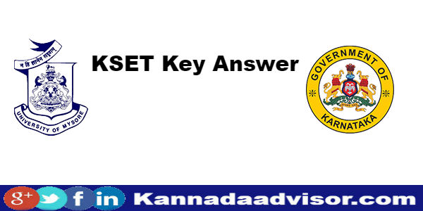 karnataka state eligibility test key answers KSET results